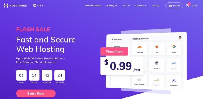 Hostinger best cloud hosting for WordPress