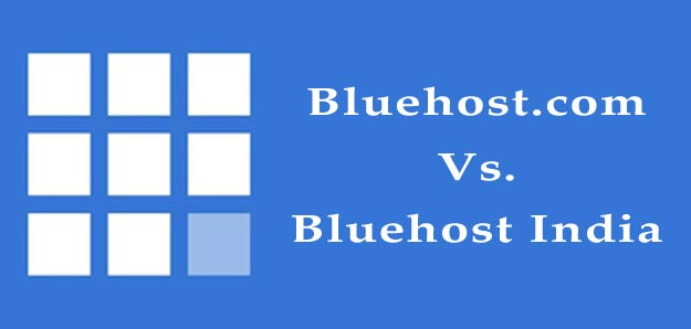 bluehost.com vs bluehost india