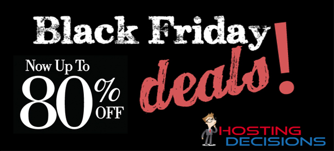 Black Friday and Cyber Monday Hosting Deals for Webmasters