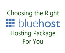 Best Bluehost Hosting Package