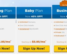 60% OFF NEW Hosting HostGator Coupon + $4.99 on Select Domains!