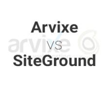 Arvixe vs SiteGround
