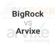 BigRock vs Arvixe