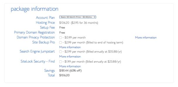 Blog Hosting Options