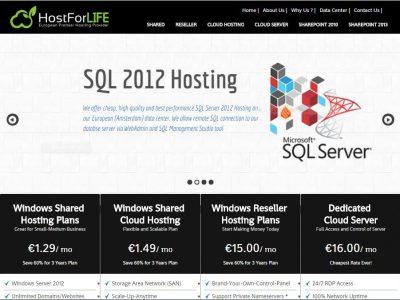 HostForLIFE.eu :: Best and Cheap ASP.NET Hosting #2