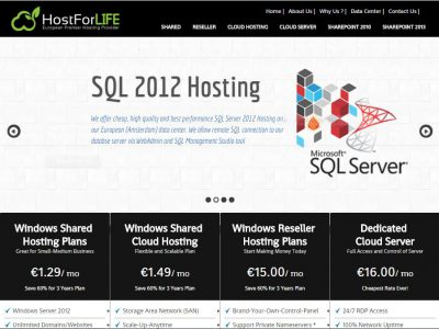 HostForLIFE.eu :: Best and Cheap ASP.NET Hosting #2