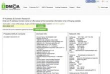 DMCA Free Lookup Tool