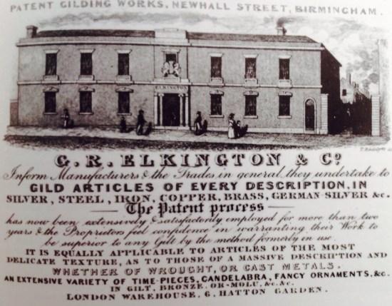 Elkington Works 1838