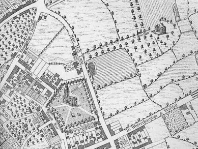 Westley's map of 1731