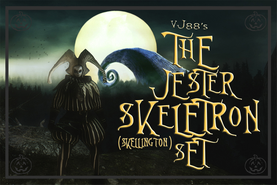 The Jester Skellington Skeletron Set The Nightmare