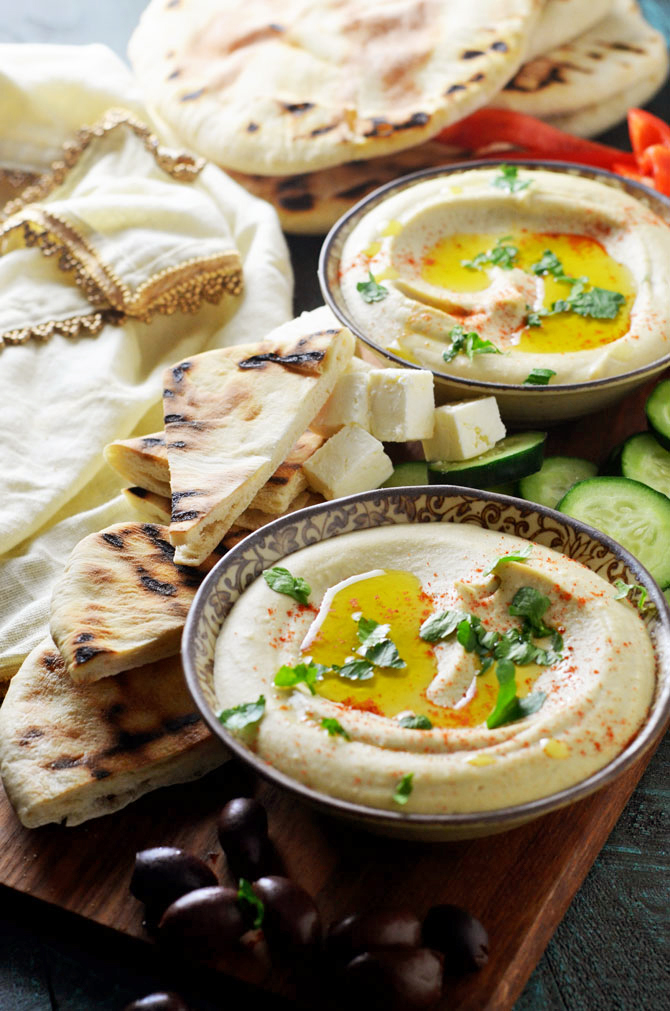 Michael Solomonov's Perfect Hummus Tehina. If you're searching for the best homemade hummus that doesn't require a ton of effort, then this recipe is for you. It doesn't get better than this dip.   hostthetoast.com
