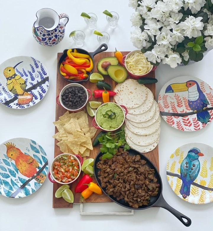 Taco Dinner Board