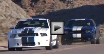 Dodge Challenger SRT8 392 vs. Shelby GT350