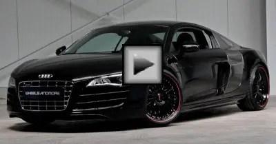 Audi R8 Top sports car