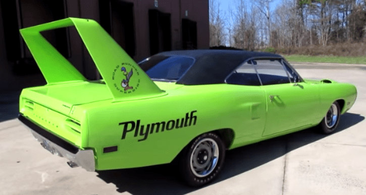 1970 plymouth road runner superbird review