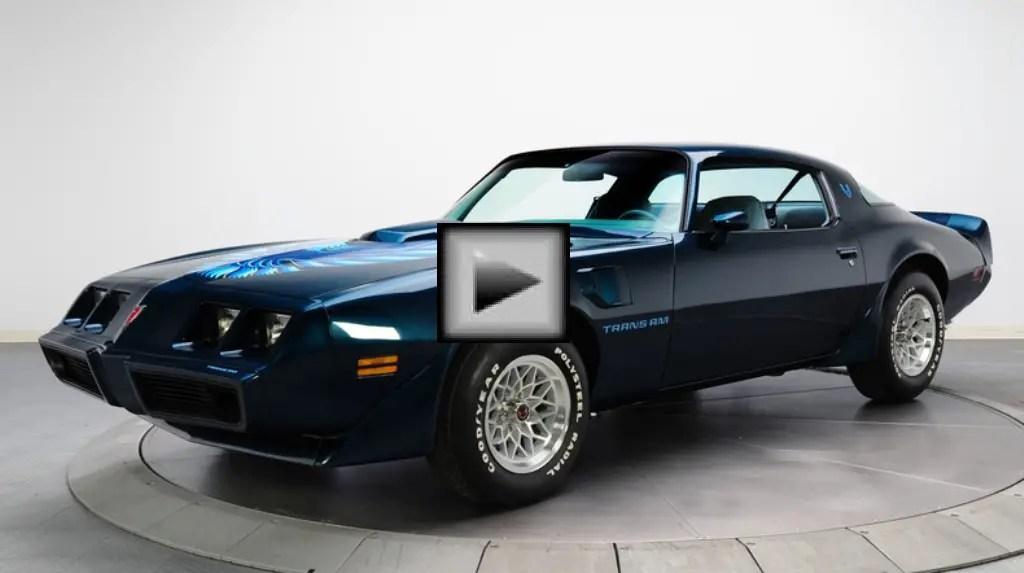 pontiac firebird american muscle car