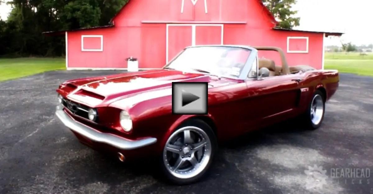 1965-Mustang american muscle car