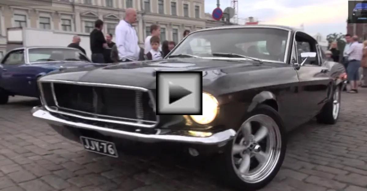 1968 Ford Mustang GT 390 Fastback Bullitt american muscle car