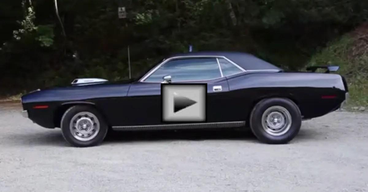 1970 440 6 Pack Cuda mopar muscle car