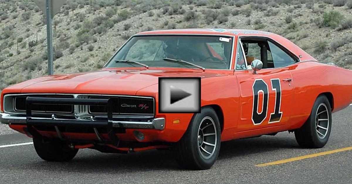 Dodge-Charger-General-Lee mopar muscle car