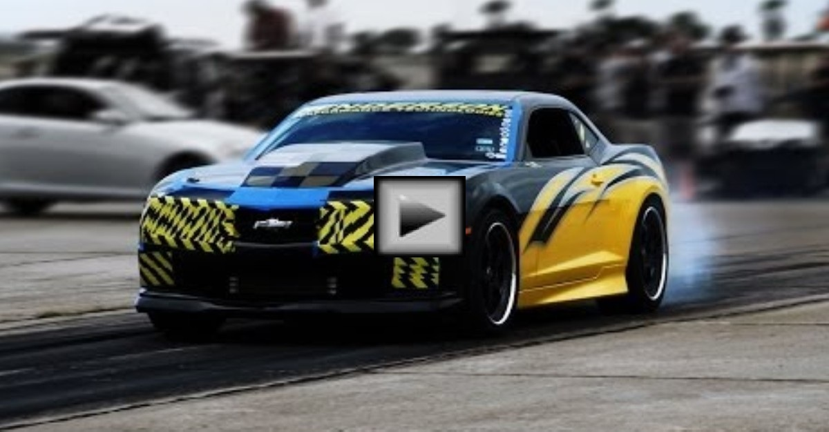 Chevy Camaro Supercharged American Muscle Car Hot Cars