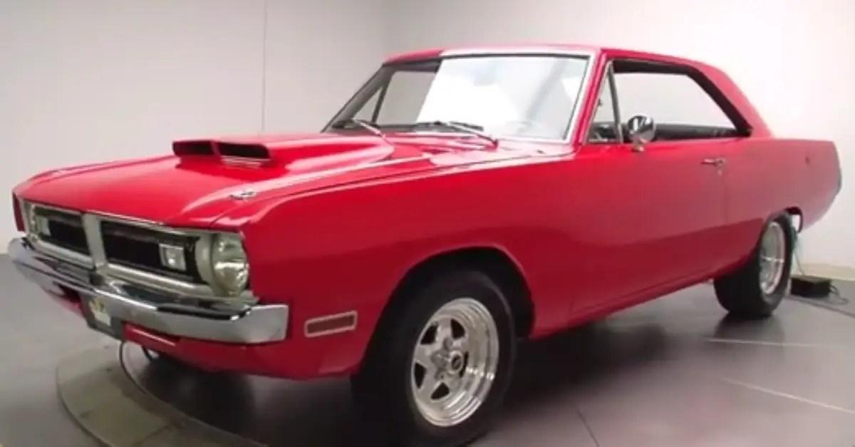 1971 Dodge Dart mopar muscle car