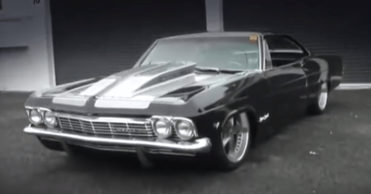 BIG BLOCKS AND BAGS 1965 Chevrolet Impala SS american muscle car