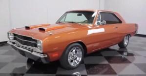 1969 Dodge Dart mopar muscle car