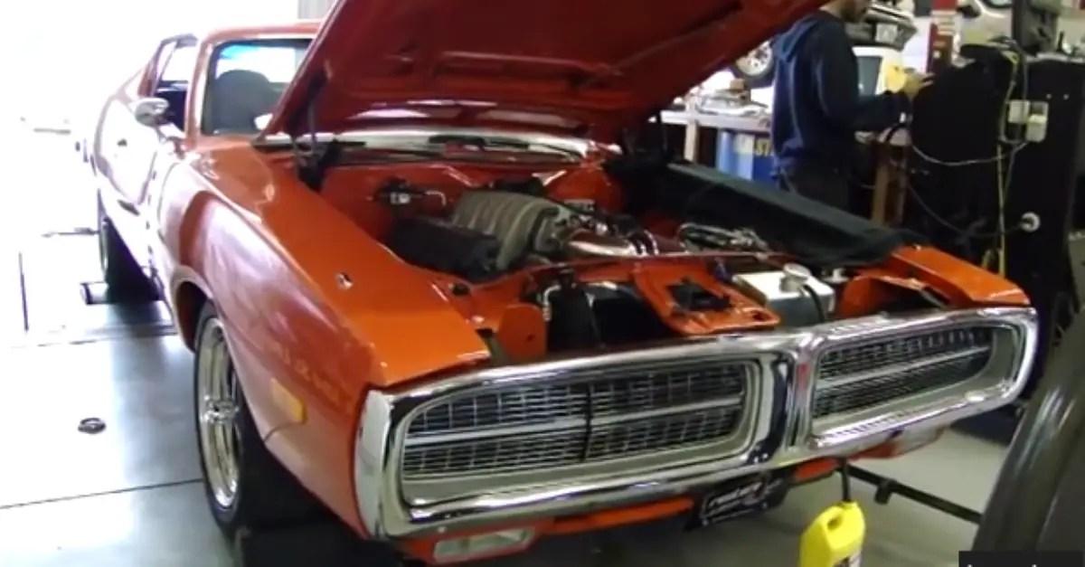 1972 Charger 6.1 Hemi 6 Speed Viper Transmission mopar muscle car