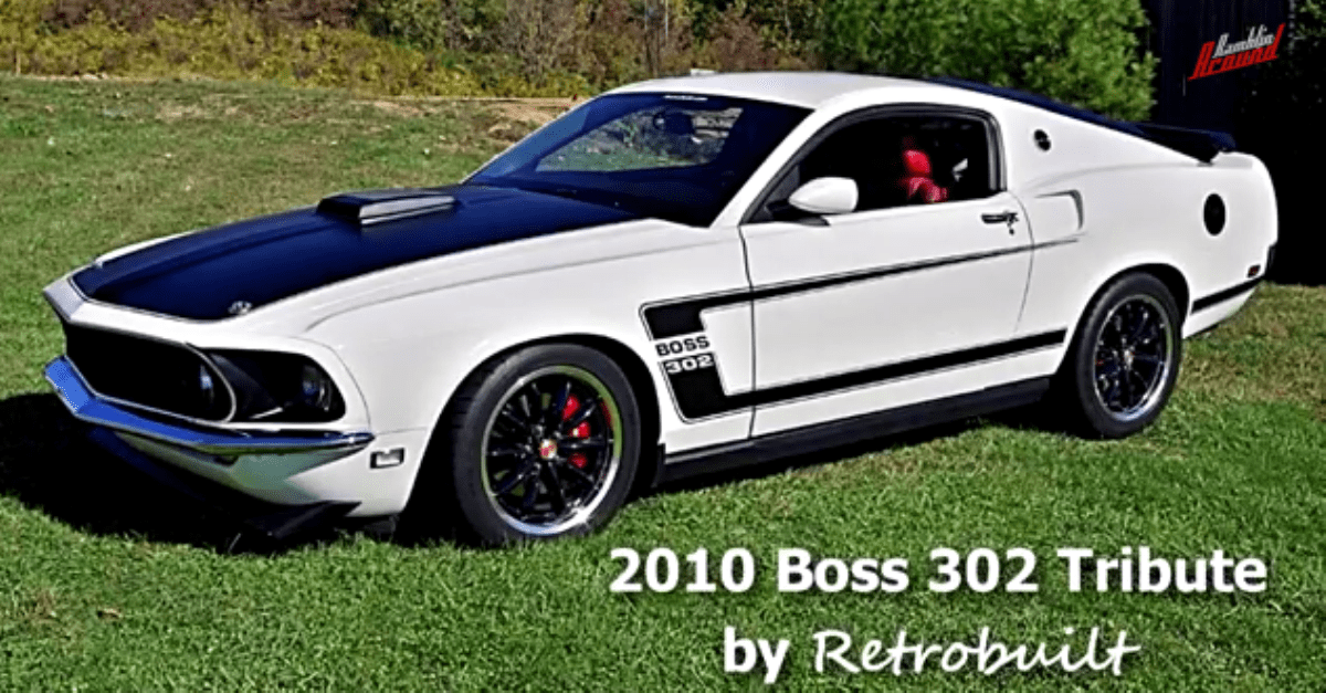 2010 Ford Mustang Boss 302 Tribute by Retrobuilt american muscle car