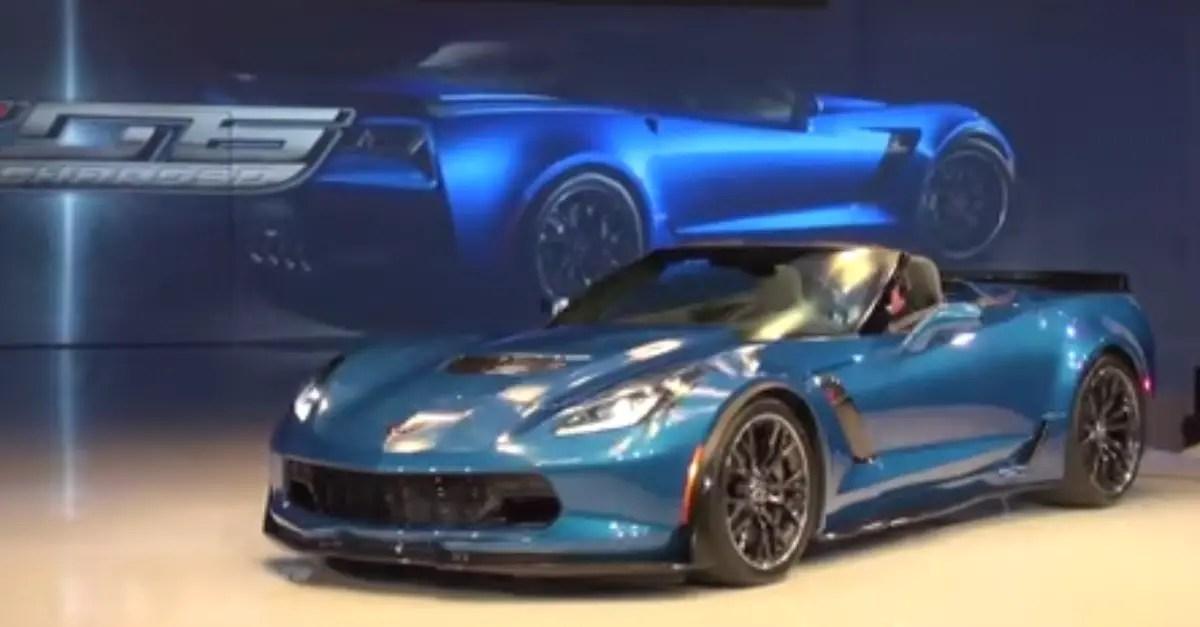2015 Chevy Corvette Z06 Convertible american sports car