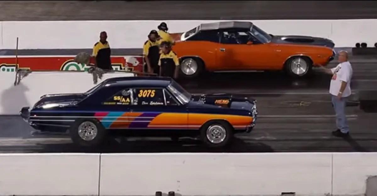 HEMI 1968 Dodge Dart VS HEMI 1970 Dodge Challenger