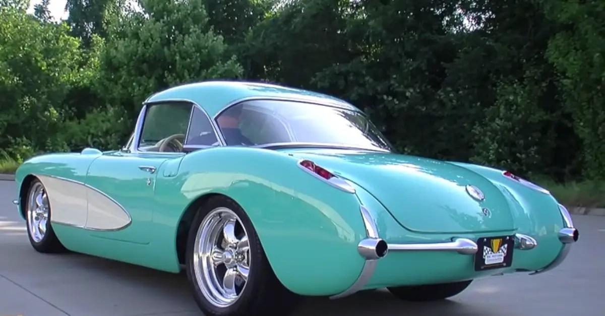1956 Chevrolet Corvette C1 roadster american sports car