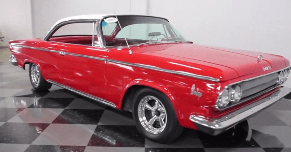 1963 Dodge 383 V8Custom 880 mopar muscle car