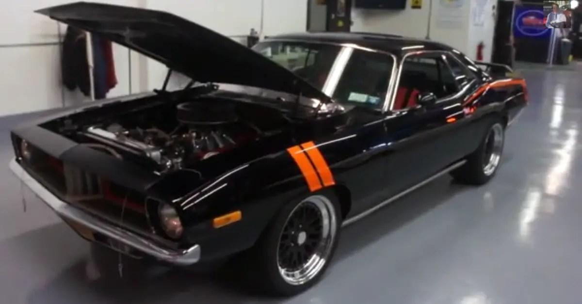 1973 Plymouth Barracuda Pro Touring Resto Mod Mopar muscle car