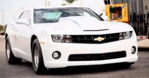 Chevrolet Copo Camaro Drag racing car