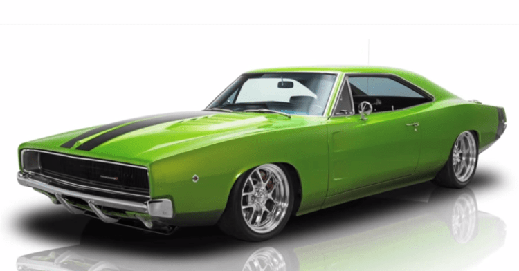 1968 Dodge Charger Awesome Mopar Muscle Car By Muscle