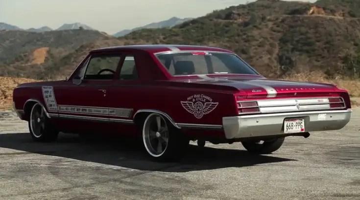 1965 oldsmobile cutlass f-85 custom built muscle car