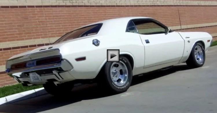 Bright White Dodge Challenger R/T 440 Magnum | HOT CARS