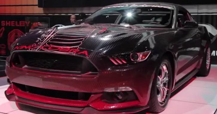 2015 mustang gt king cobra sema 2014 hot cars. Black Bedroom Furniture Sets. Home Design Ideas