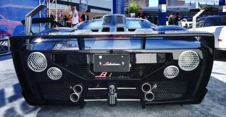 ford gt belladonna custom sports car
