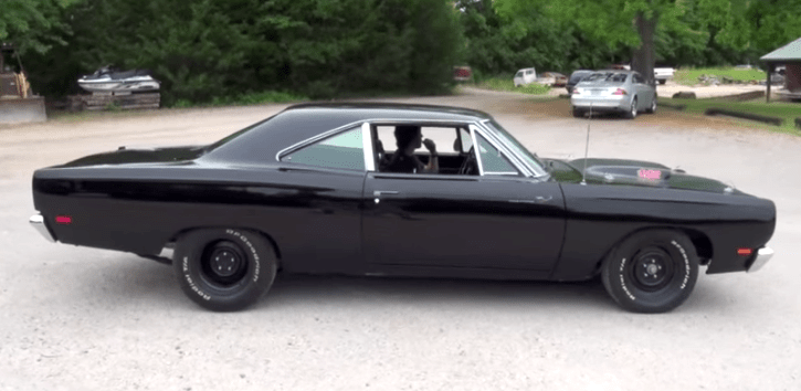 Mean Plymouth Roadrunner Muscle Car Hot Cars