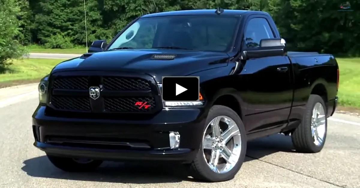 2015 ram 1500 rt truck road test and burnout hot cars. Black Bedroom Furniture Sets. Home Design Ideas