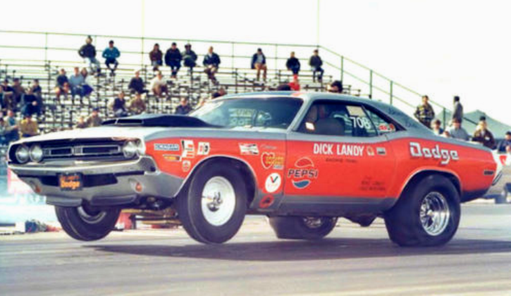 Pro Stock Challenger : Dick landy his pro stock dodge challenger hot cars