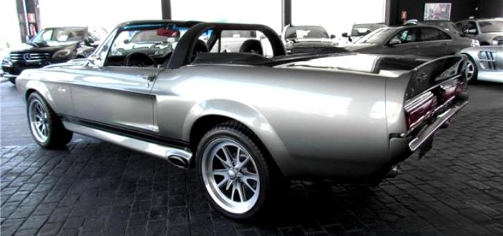ford mustang shelby gt 500 convertible muscle car