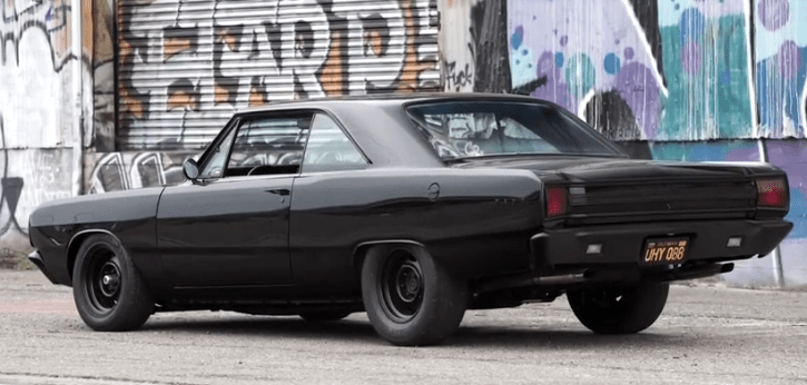 dodge dart muscle car