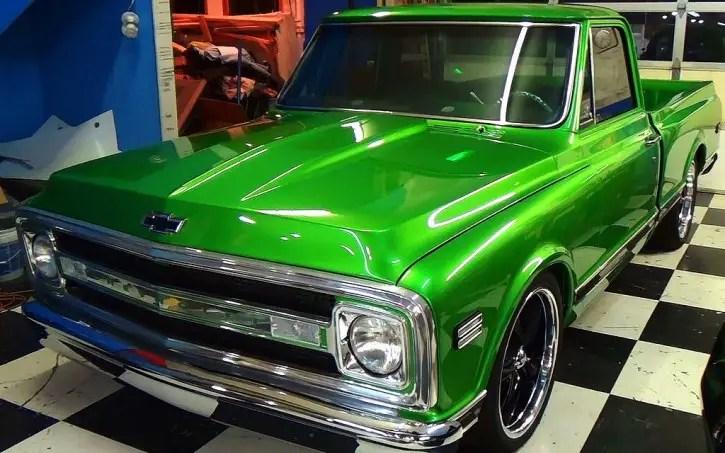 Synergy Green Truck Paint Jobs
