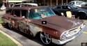 custom 1960 chevy kingswood station wagon