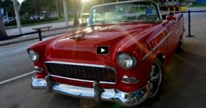 custom built 1955 chevy bel air convertible