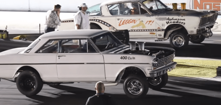 big block 1965 barracuda gasser drag racing